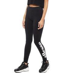 legging ellesse solos2 negro - calce ajustado