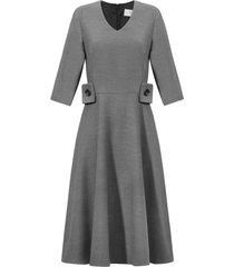 sukienka franchie szara