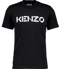 bicolour logo t-shirt