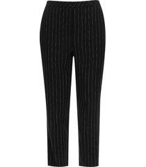 pantalón con botones en pretina color negro, talla 10