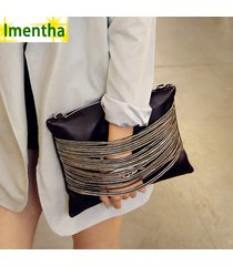 2017 women bag black fashion party lady day evening clutch bags small cansual wr