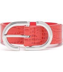 cinturón amadea rojo prune