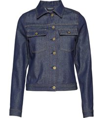 suzy raw denim jacket jeansjack denimjack blauw filippa k