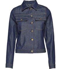 suzy raw denim jacket jeansjack denimjack blauw filippa k