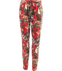 ned pantalon marina red jungle rood