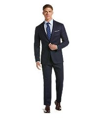 1905 collection slim fit stripe men's suit with brrr°® comfort clearance by jos. a. bank