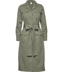 asher dress jacket stg maxi dress galajurk groen iben