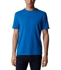 boss men's trust bright blue t-shirt