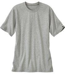 t-shirt met halflange mouw, grijs-gemêleerd 4