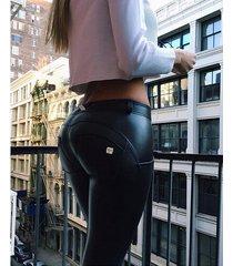women's jeans, leggings, sport leather push up pants