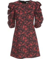 see by chloé mini s/s dress w/ruffle on sleeves