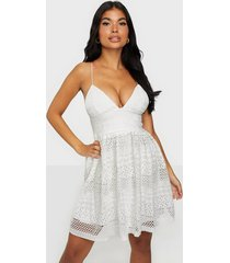 rare london crochet lace cami dress skater dresses