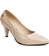 calzado dama ejecutivo tacon 5 1/2 nude 542674nude