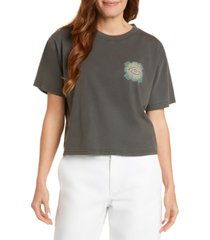 dickies juniors' cotton logo-graphic t-shirt