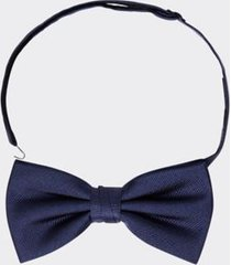 tommy hilfiger men's solid silk bow tie sky captain -
