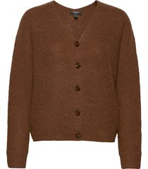 sweaters cardigan gebreide trui cardigan bruin esprit collection