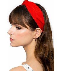 *loop headband - red