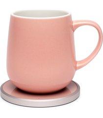 ohom ui mug & warmer set, size one size - pink
