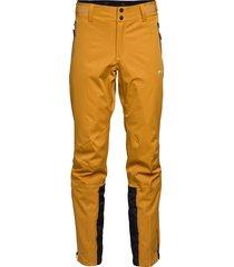 raada 2-layer technical trouser sport pants geel skogstad