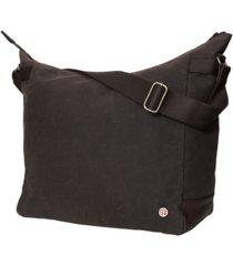 manhattan portage riverside waxed shoulder bag