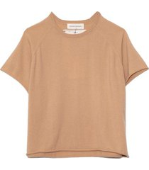 todd cashmere top in camel
