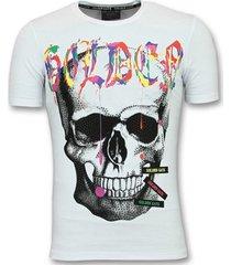 t-shirt korte mouw enos skull