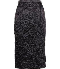rochas acetate skirt
