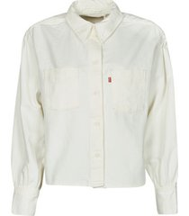 overhemd levis zoey pleat utility shirt