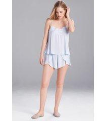 fairytale pajamas, women's, blue, size s, josie