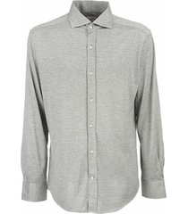 slim fit shirt with french collar
