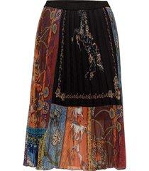 fal valeria knälång kjol svart desigual