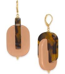 kate spade new york gold-tone nestled drop earrings
