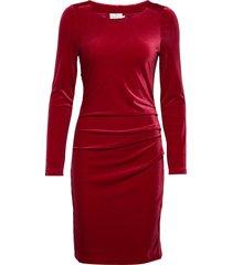 kelly dress dresses bodycon dresses röd kaffe