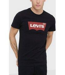 levis graphic setin neck graphi t-shirts & linnen black