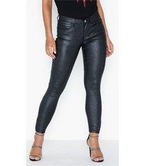 noisy may nmkimmy nw 7/8 glitzy jeans jj001bl skinny
