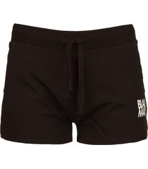sweatshorts queens  zwart