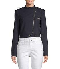 lisette high neck jacket