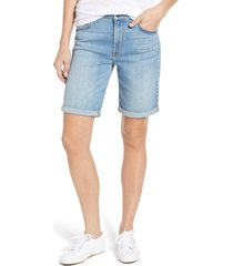 women's jen7 by 7 for all mankind roll cuff bermuda shorts