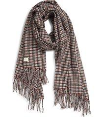 women's rag & bone classic wool scarf, size one size - grey