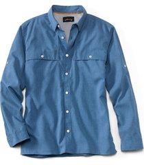 orvis men's sandpoint shirt, marine blue, xl