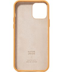 native union clic heritage iphone case - ocre - iphone 12/12 pro