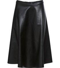kjol i skinnimitation