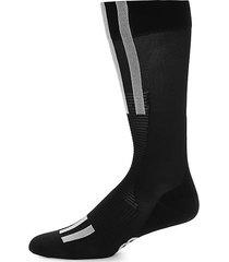 ribbed tech socks