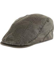 levi's men's pieced flat top ivy cap