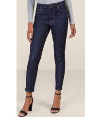 harper heritage high rise skinny jeans - dark