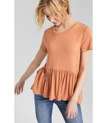 hooked up by iot juniors' babydoll top