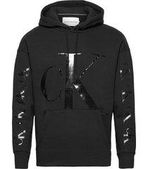 ck eco fashion hoodie hoodie trui zwart calvin klein jeans