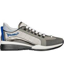 scarpe sneakers uomo in pelle 551