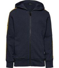 suit sweat-shirt hoodie trui blauw diesel