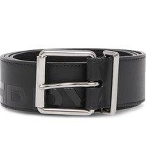 burberry horseferry-print belt - black